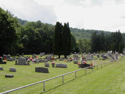 Old Maple Grove Cemetery A L Shinglehouse Potter County