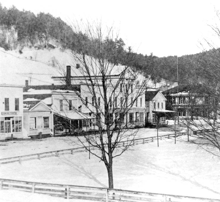 Cool Coudersport Before The Fire Of 1880 Potter County Pa Download Free Architecture Designs Rallybritishbridgeorg